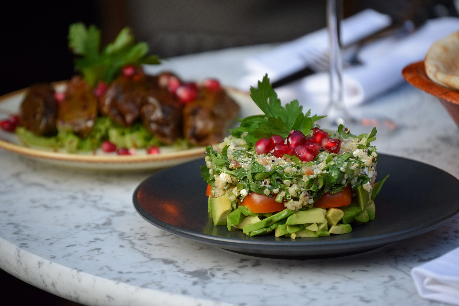 Shish Taouk and Avocado Salad 1